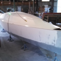 Custom Fiberglass Sailboat Deck