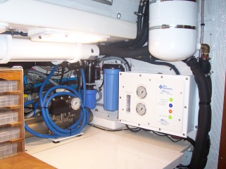 Watermaker Installation